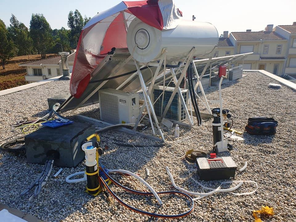 Manutenção de Painel Solar