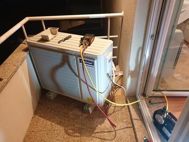 Instalação ar condicionado Toyotomi