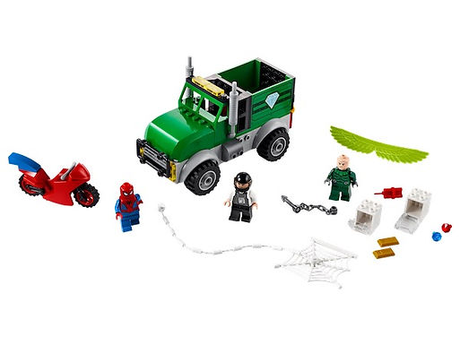 Lego Marvel 76147 Super Heroes Spiderman Truck at JJ Toys