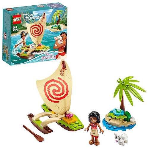 LEGO Disney Princess 43170 Moanas Ocean Adventure at JJ Toys