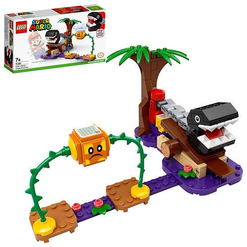 LEGO Super Mario 71381 Chain Chomp Jungle Encounter Expansion Set