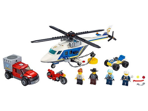 LEGO City 60243 Police Helicopter Chase at JJ Toys