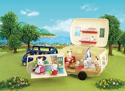 Sylvanian Families The Caravan 5045 at JJ Toys