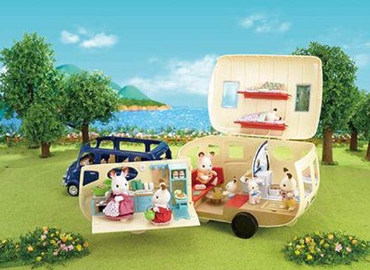 Sylvanian Families The Caravan 5045 at JJ Toys