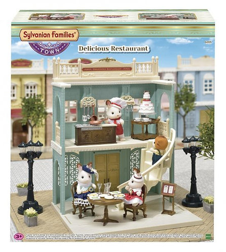 Sylvanian Families Delicious Restaurant 6018 at JJ Toys