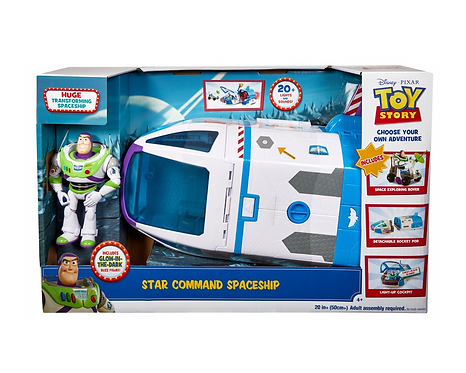 Disney Pixar Toy Story Buzz Lightyear Star Command