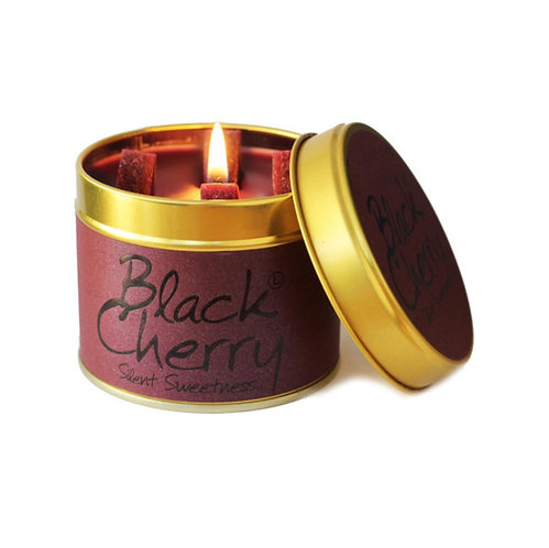 Lily Flame Black Cherry Scented Candle at Cardella (GX1)