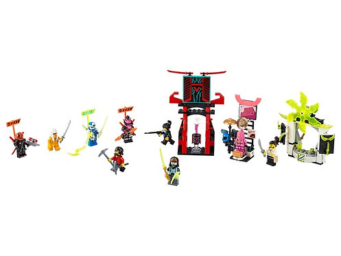 Lego Ninjago 71708 Gamer's Market at JJ Toys