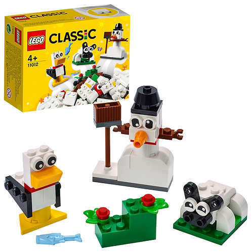 LEGO Classic 11012 Creative White Bricks