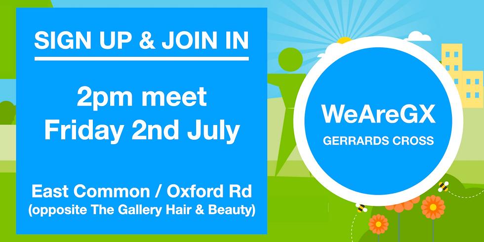 WeAreGX Group Litter Pick - Friday 02 July 21