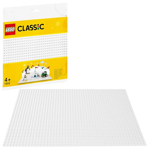Lego Classic 11010 White Baseplate at JJ Toys