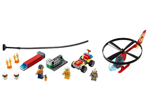 LEGO City 60248 Fire Helicopter Response at JJ Toys