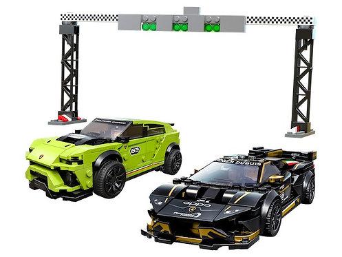 Lego Speed Champions 76899 Lamborghini Urus ST-X & Lamborghini Huracán Super