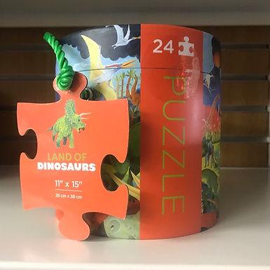 Land of Dinosaur 24 piece Jigsaw Puzzle on Localy.co.uk (GX1)