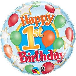 1st Birthday Foil Balloon at Cardella (GX1)