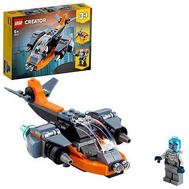 LEGO Creator 3-in-1 31111 Cyber Drone
