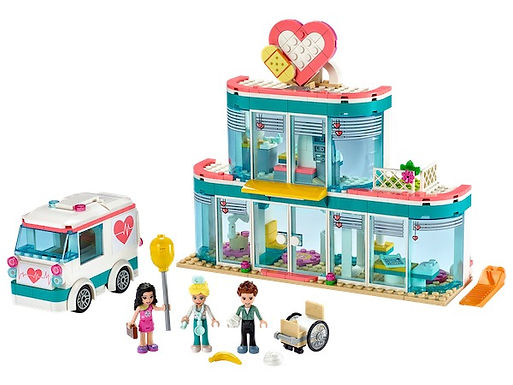 LEGO Friends 41394 Heartlake City Hospital at JJ Toys