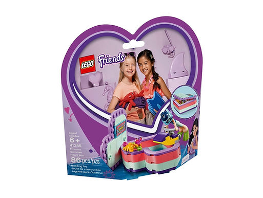LEGO Friends 41385 Emma's Summer Heart Box