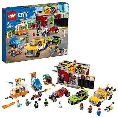 LEGO City 60258 Tuning Workshop at JJ Toys