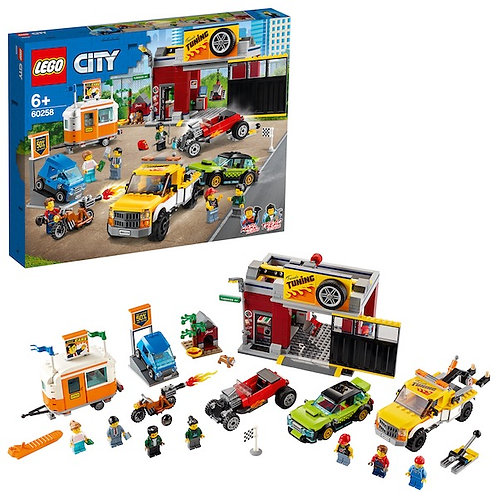 LEGO City 60258 Tuning Workshop at JJ Toys