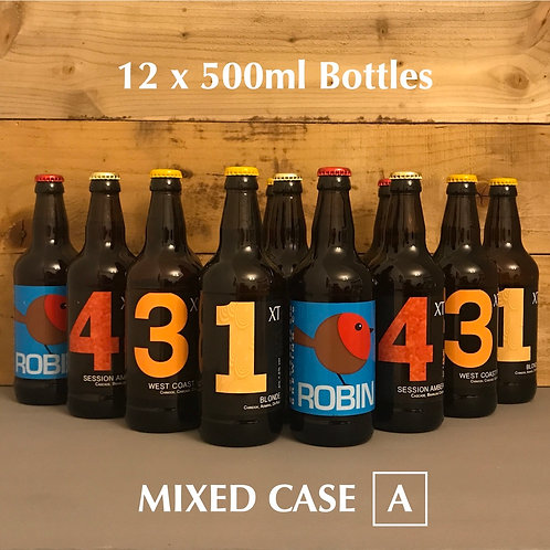 Christmas XT Beer - Mixed Case A - 12 x 500ml Bottles
