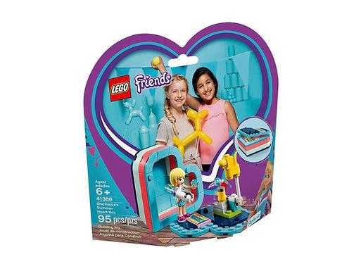 LEGO Friends 41386 Stephanie's Summer Heart Box