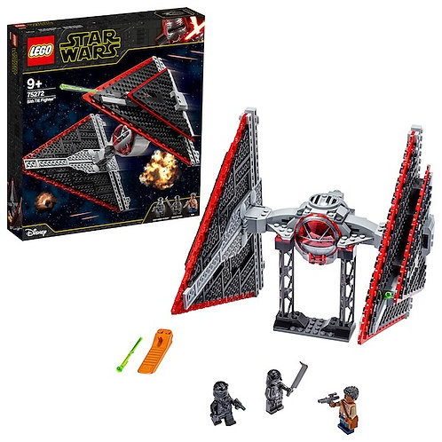 LEGO Star Wars 75272 Sith TIE Fighter Episode 9 at JJ Toys