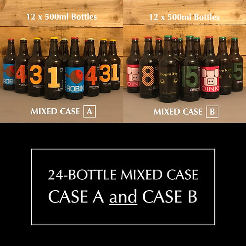 Christmas XT Beer Mixed Cases A & B 24 x 500ml Bottles with FREE LOCAL DELIVERY