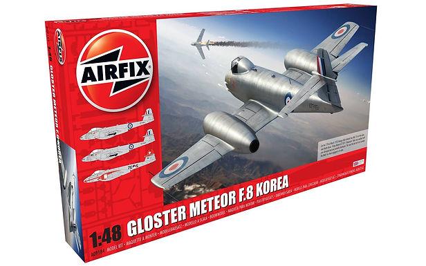 Airfix Gloster Meteor F.8 Korea Airplane Model (GX1)