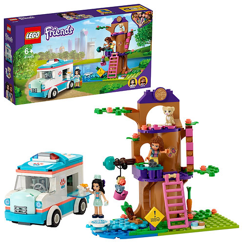 LEGO Friends 41445 Vet Clinic Ambulance