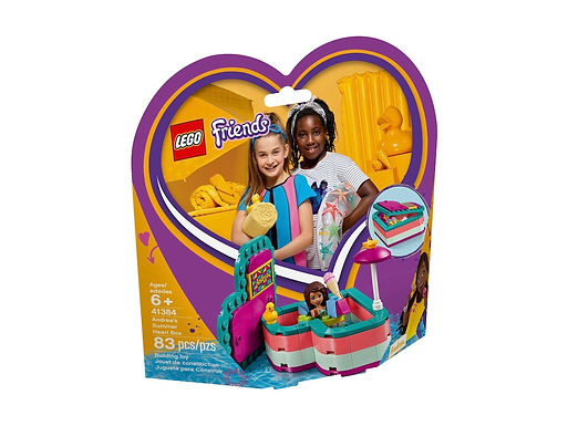 LEGO Friends 41384 Andrea's Summer Heart Box