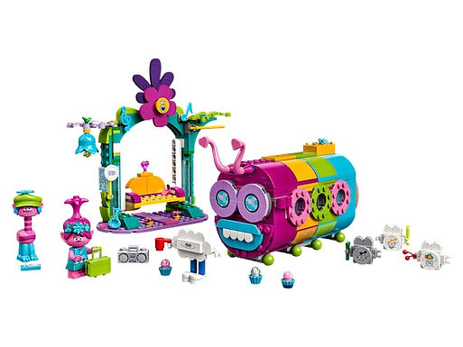 Lego Trolls 41256 Rainbow Caterbus at JJ Toys