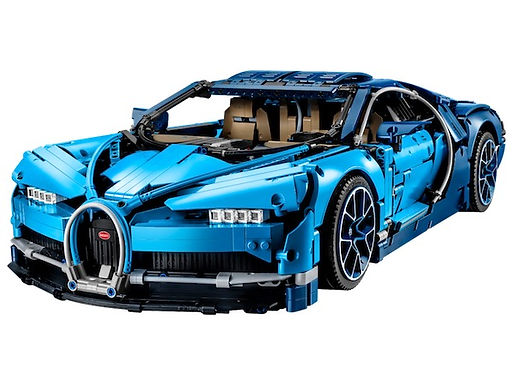 Lego Technic 42083 Bugatti Chiron at JJ Toys