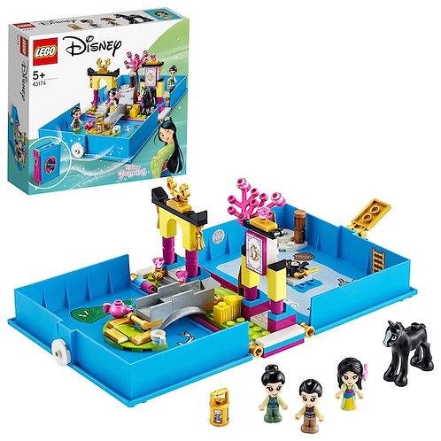LEGO Disney 43174 Princess Mulan's Storybook Adventures at JJ Toys