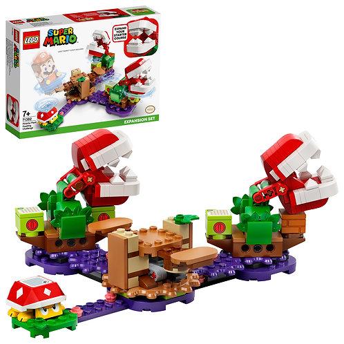 LEGO Super Mario 71382 Piranha Plant Puzzling Challenge Expansion Set