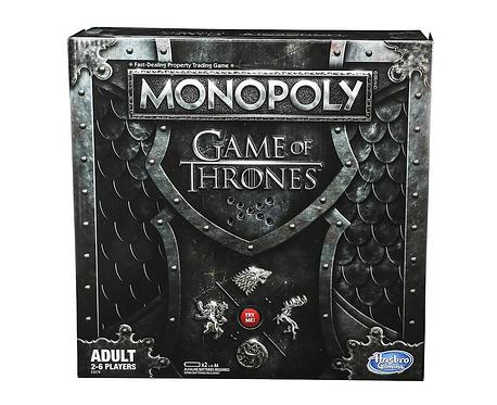 Monopoly Game of Thrones Board Game for Adults on Localy.co.uk (GX1)