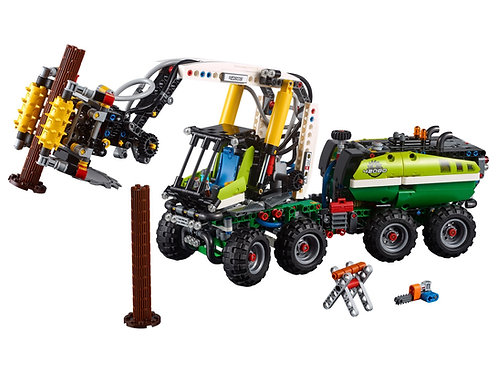 Lego Technic 42080 Forest Machine at JJ Toys
