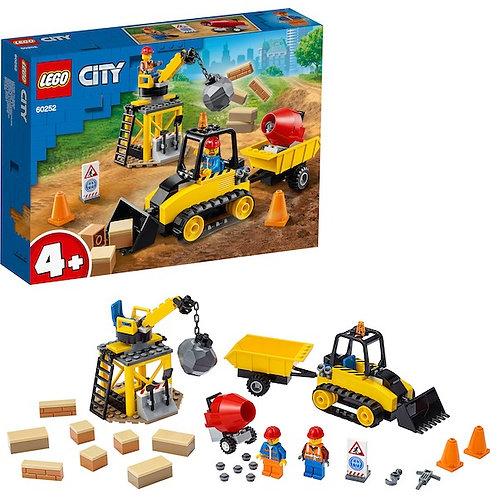 LEGO City 60252 Construction Bulldozer at JJ Toys