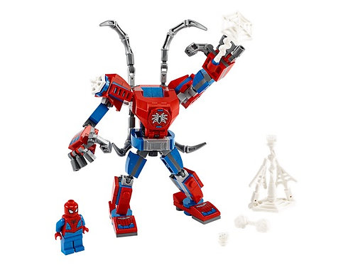 Lego Marvel 76146 Super Heroes Spiderman Mech at JJ Toys