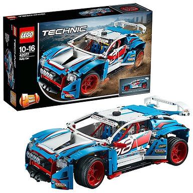 Lego Technic 42077 Rally Car at JJ Toys