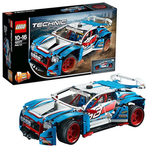 Lego Technic 42077 Rally Car at JJ Toys