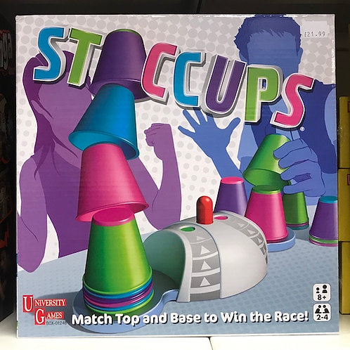 STACCUPS Game by University Games on Localy.co.uk (GX1)