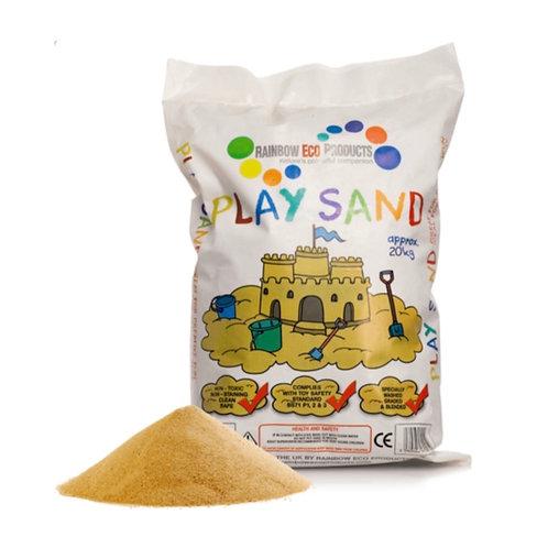 Rainbow Eco Play Natural Play Sand 20kg (GX1)