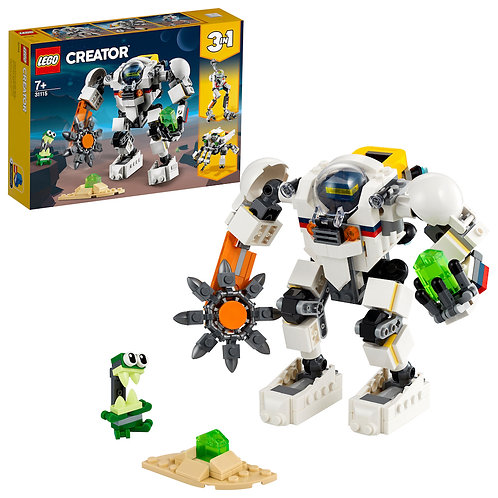 LEGO Creator 3-in-1 31115 Space Mining Mech