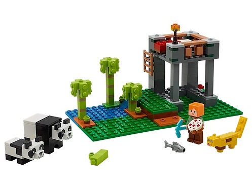 Lego Minecraft 21158 The Panda Nursery at JJ Toys