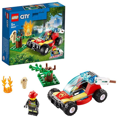 LEGO City 60247 Forest Fire at JJ Toys