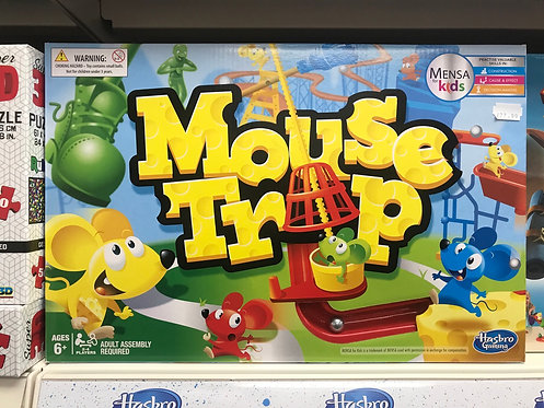 Mouse Trap Game (Hasbro Gaming) Mensa for Kids on Localy.co.uk (GX1)
