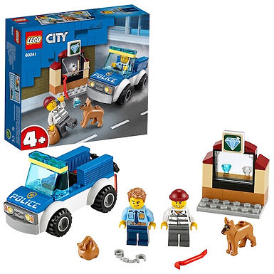 LEGO City 60241 Police Dog Unit at JJ Toys