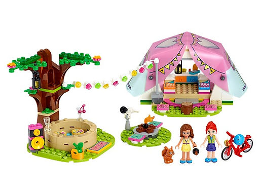 LEGO Friends 41392 Nature Glamping at JJ Toys