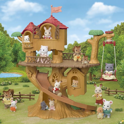 Sylvanian Families Adventure Tree House 5450 at JJ Toys